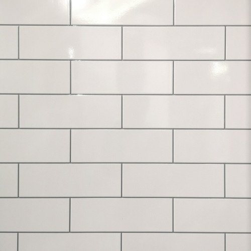 Subway Tile effect tile wet wall