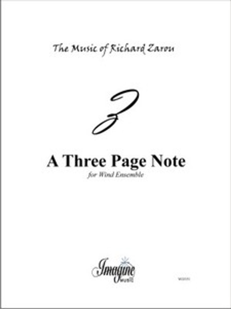 A Three Page Note