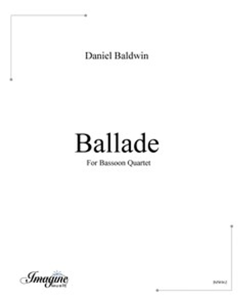 Ballade (Bassoon Quartet)