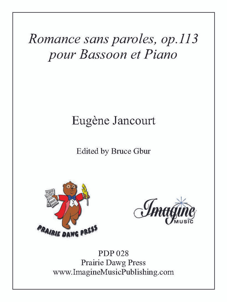 Romance sans paroles, op. 113