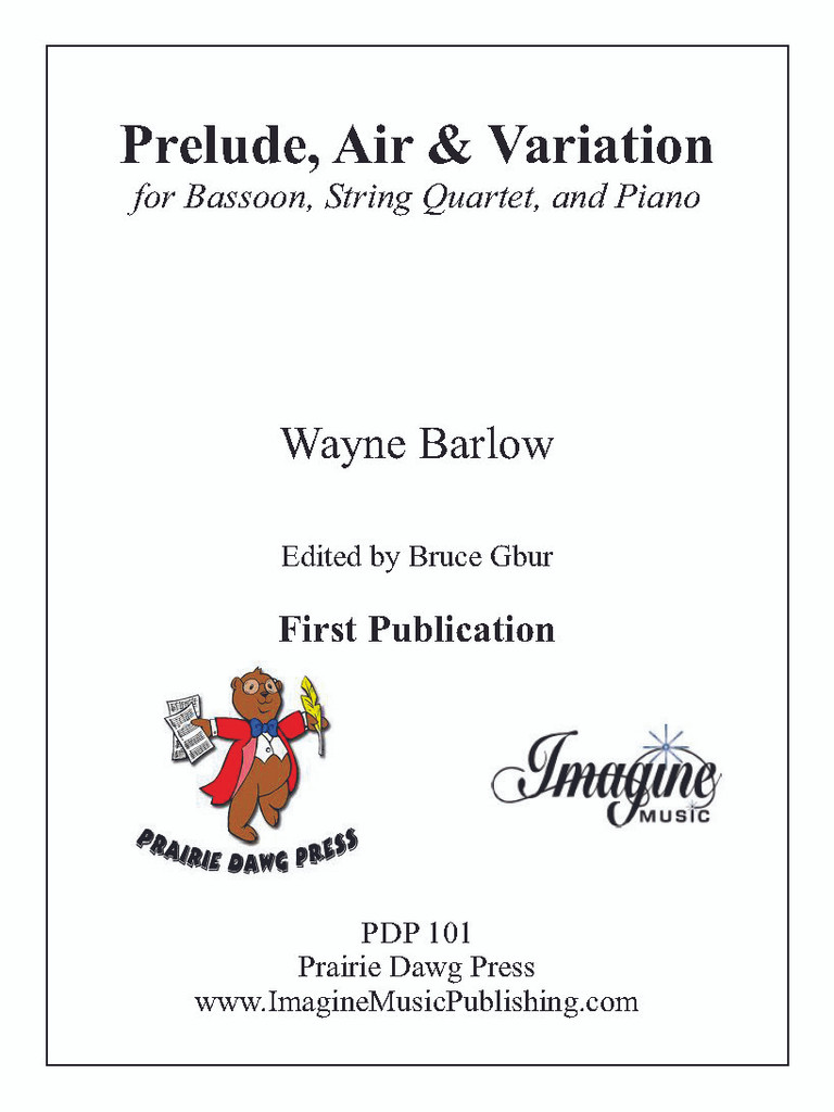 Prelude, Air and Variation