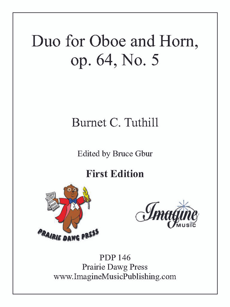 Duo for Oboe and Horn, op. 64, No. 5