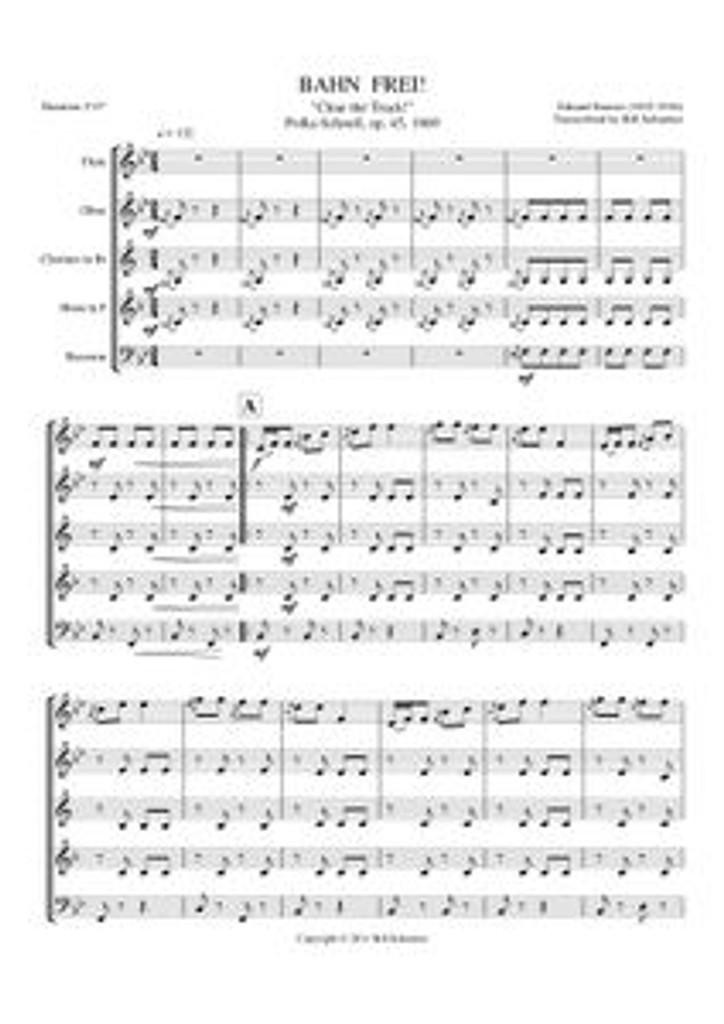 BAHN FREI (woodwind quintet)