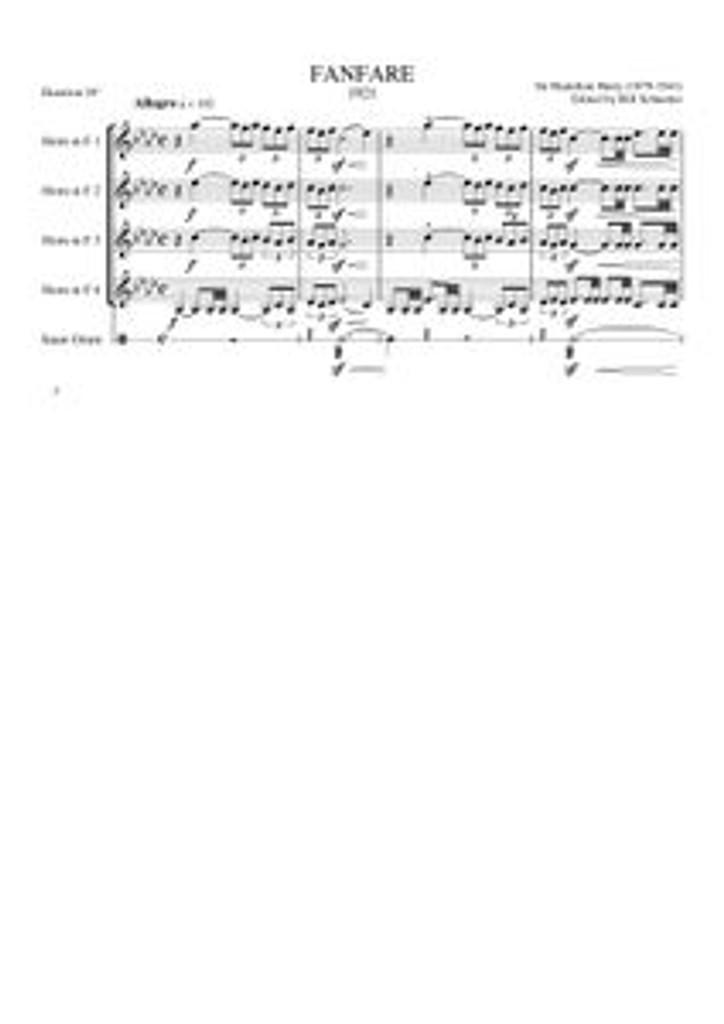 FANFARE (horn quartet) (download)