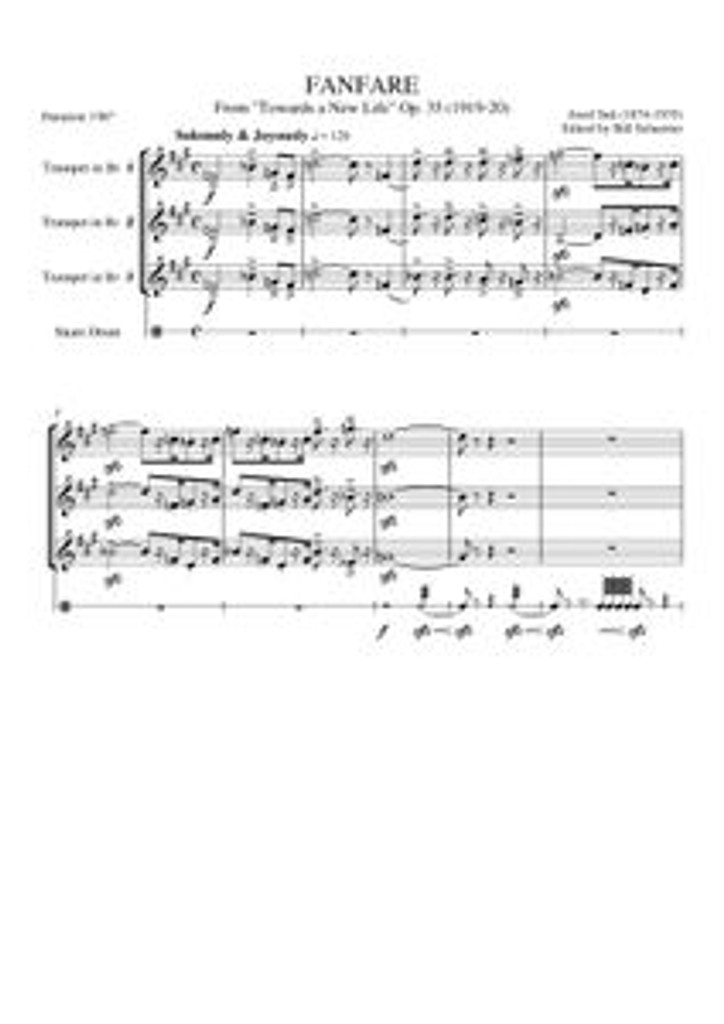 """FANFARE """"TOWARDS A NEW LIFE"""" (download)"""