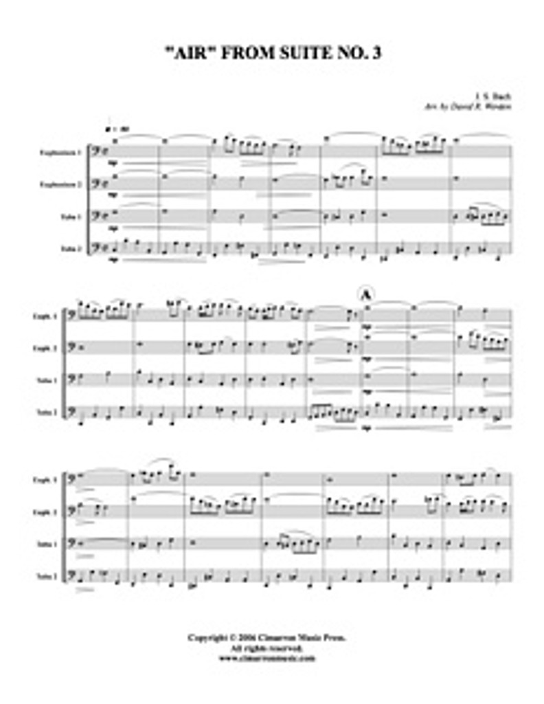 Air from Suite No. 3 (download)