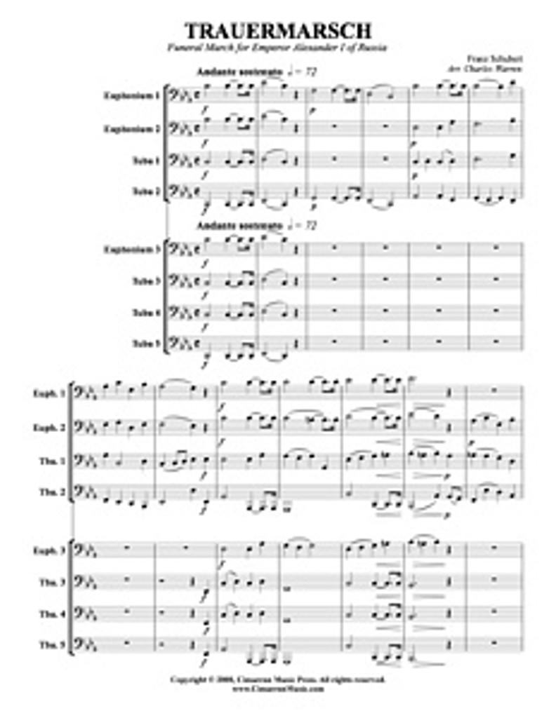 Trauermarsche, Op. 55 (Download)