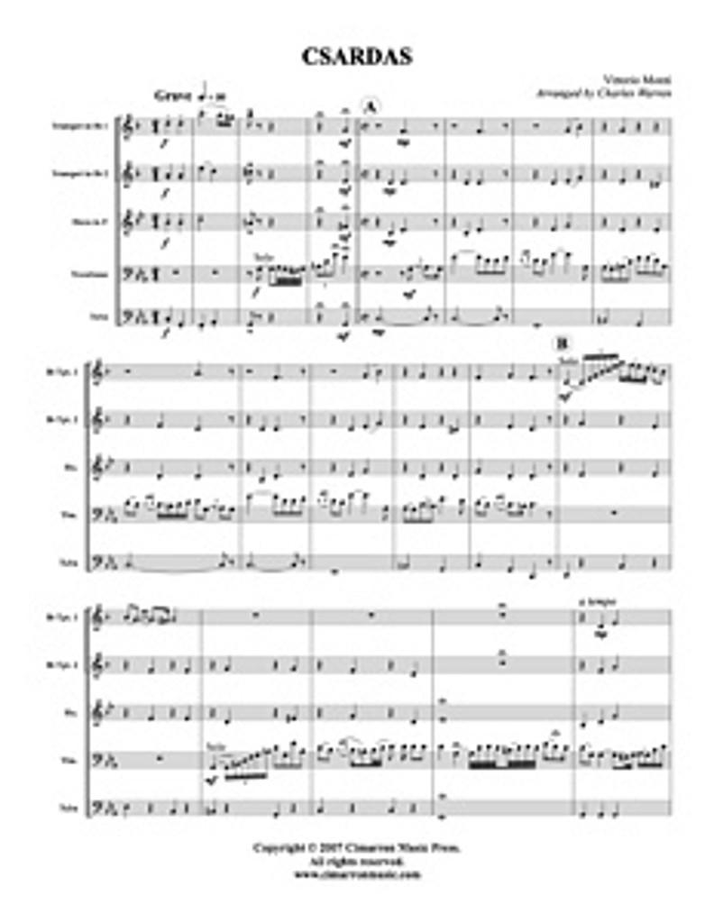 Czardas (Brass Quintet) (Download)
