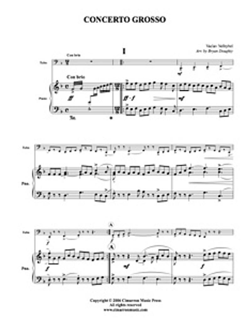 Concerto Grosso (tuba solo) (download)