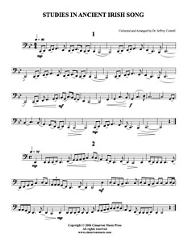 Studies in Ancient Irish Song (tuba method) (download)