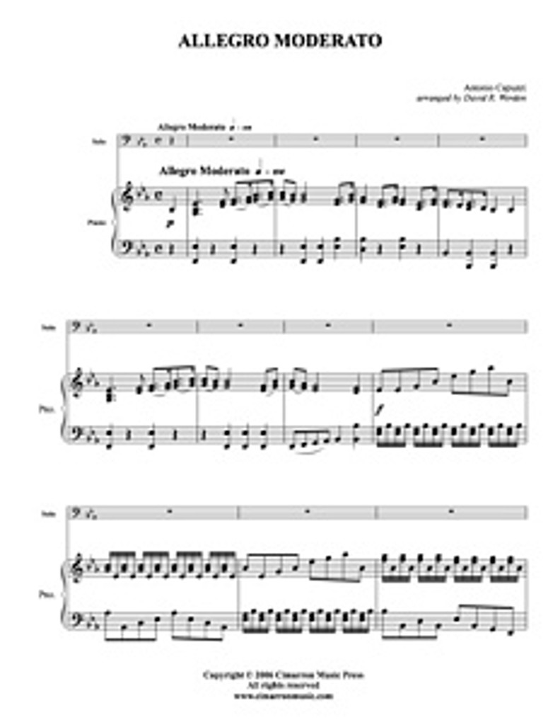 Allegro Moderato (tuba solo) (download)