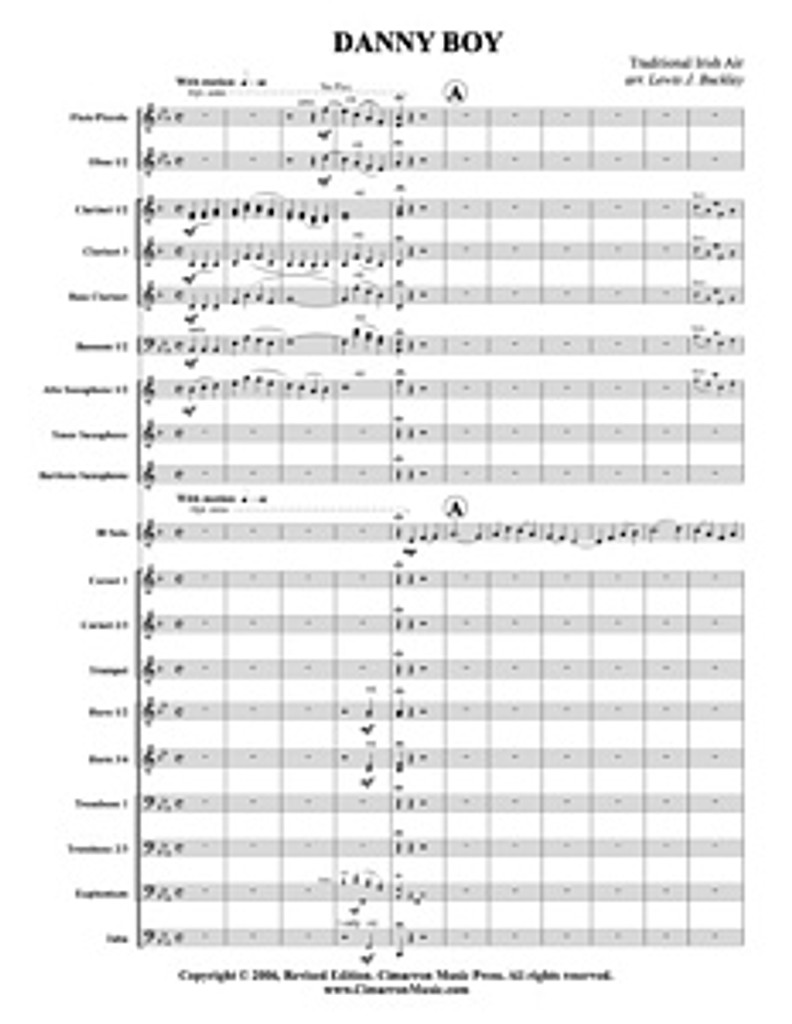 Danny Boy (Trumpet/Euphonium Solo) (download)