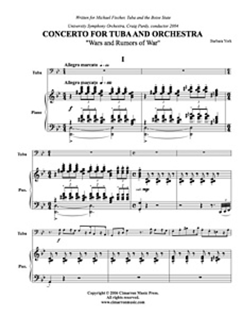 Concerto (Wars and Rumors of War) (tuba solo) (download)