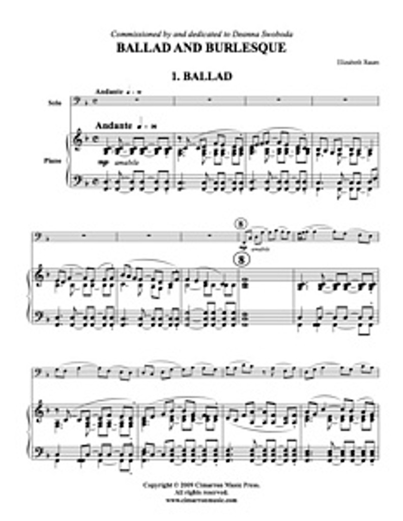 Ballad and Burlesque (Download)