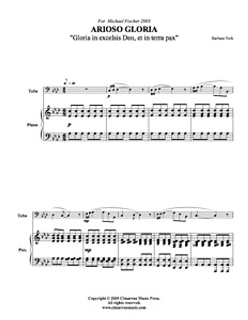 Arioso Gloria (Download)