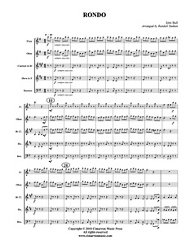Rondo (Woodwind Quintet) (Download)