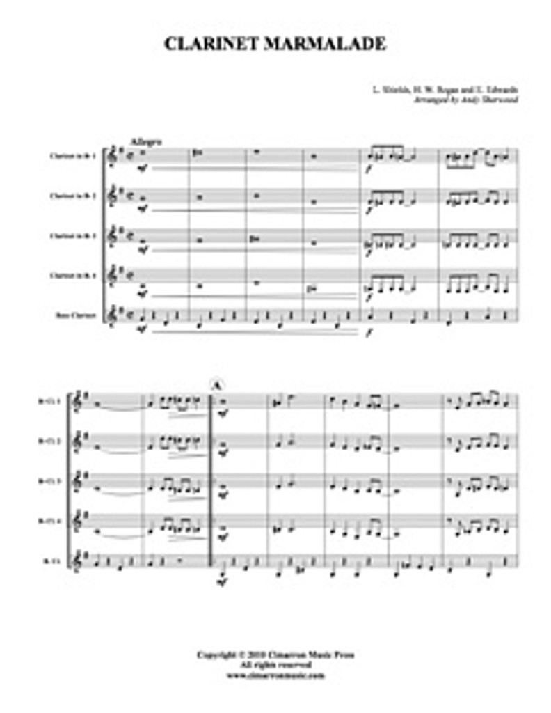 Clarinet Marmalade (Download)
