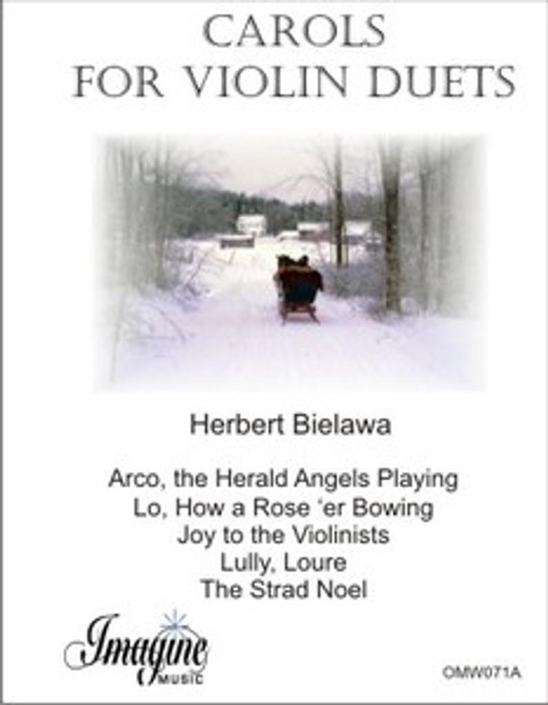 Carols for Violin Duets (download)
