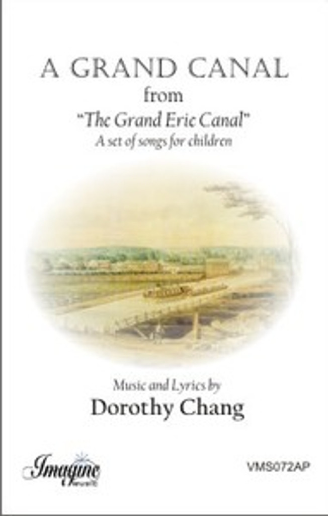 A Grand Canal (choral score) (download)