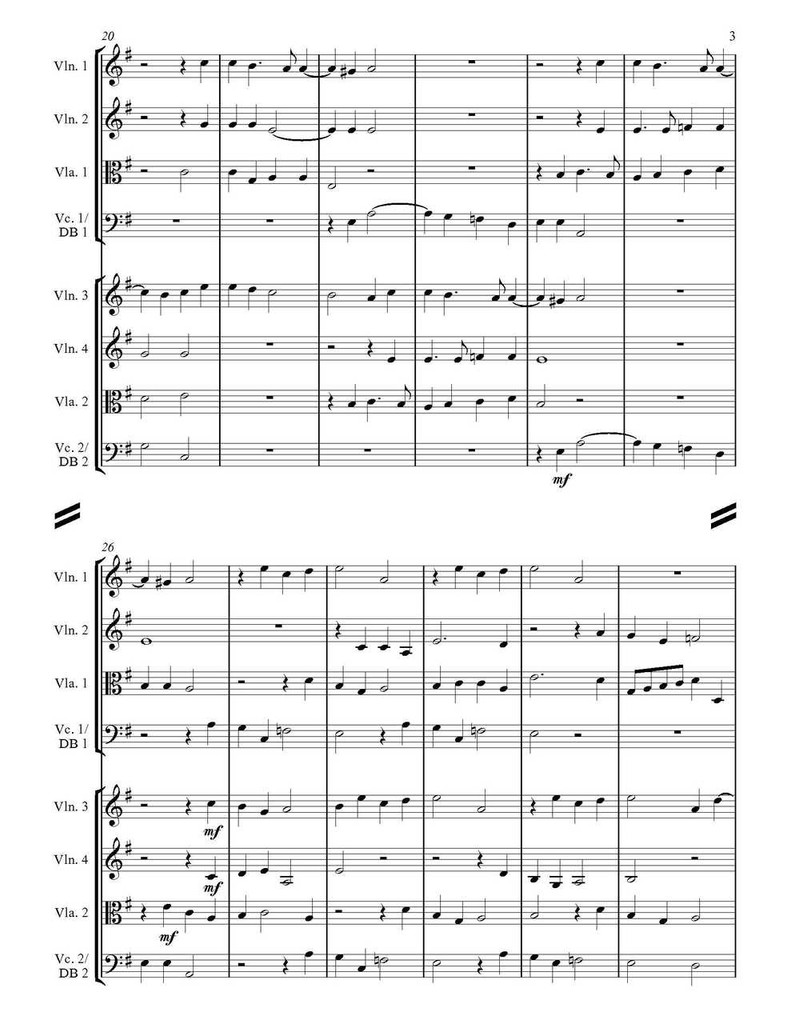 Ave Maria (String Ensemble) (download)