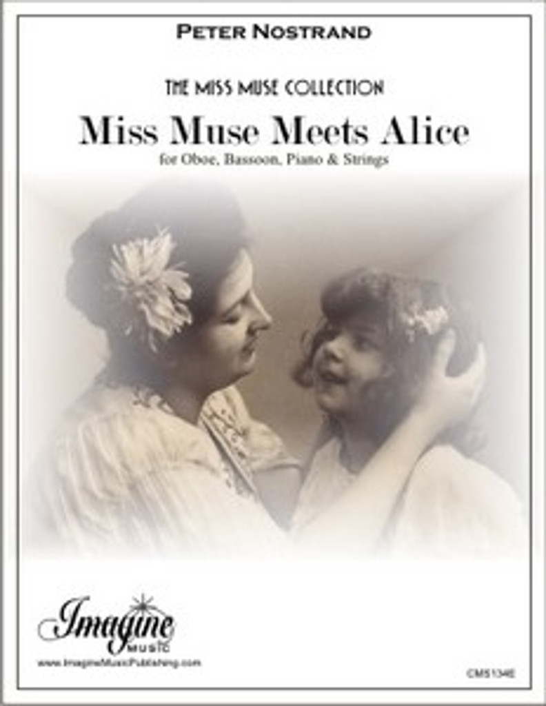 Miss Muse Meets Alice (Ob, Bsn, Pno, Strings) (download)