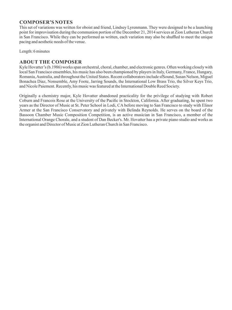 """7 Variations on """"Greensleeves"""" (download)"""