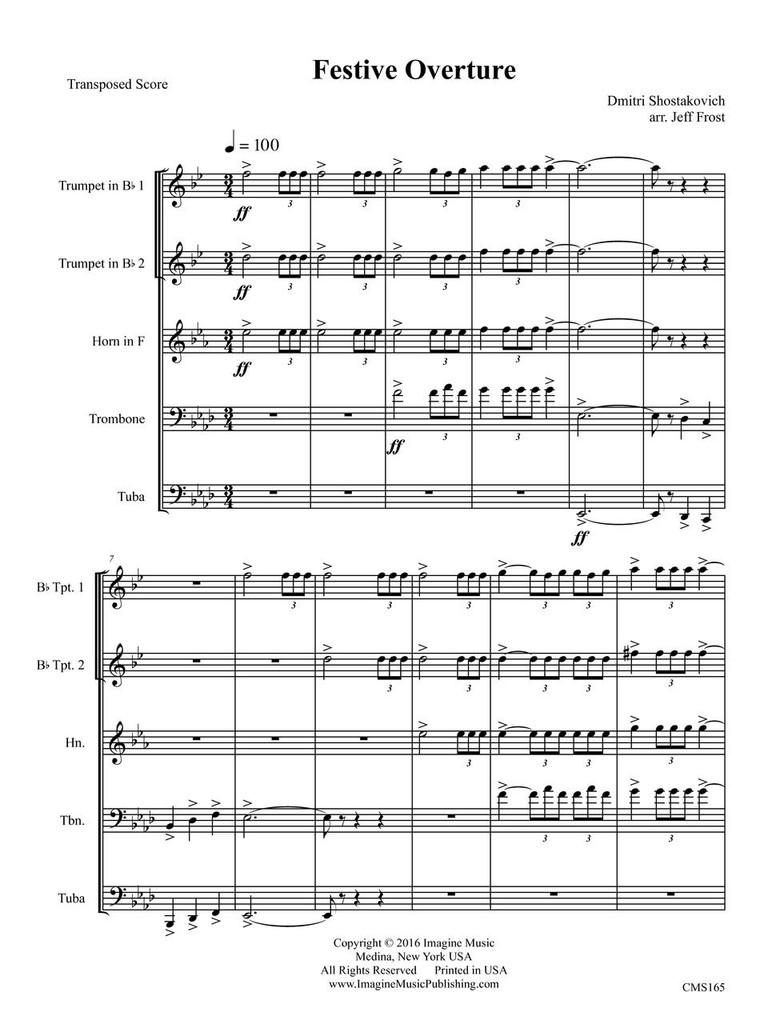 Festive Overture (download)