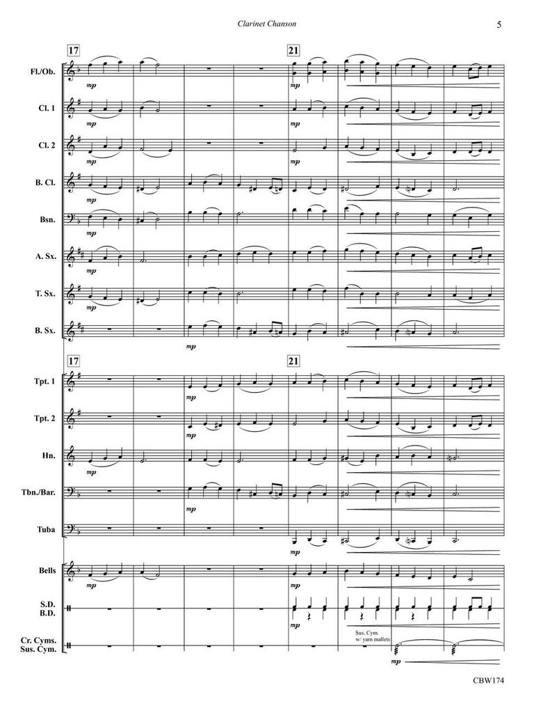 Clarinet Chanson (download)