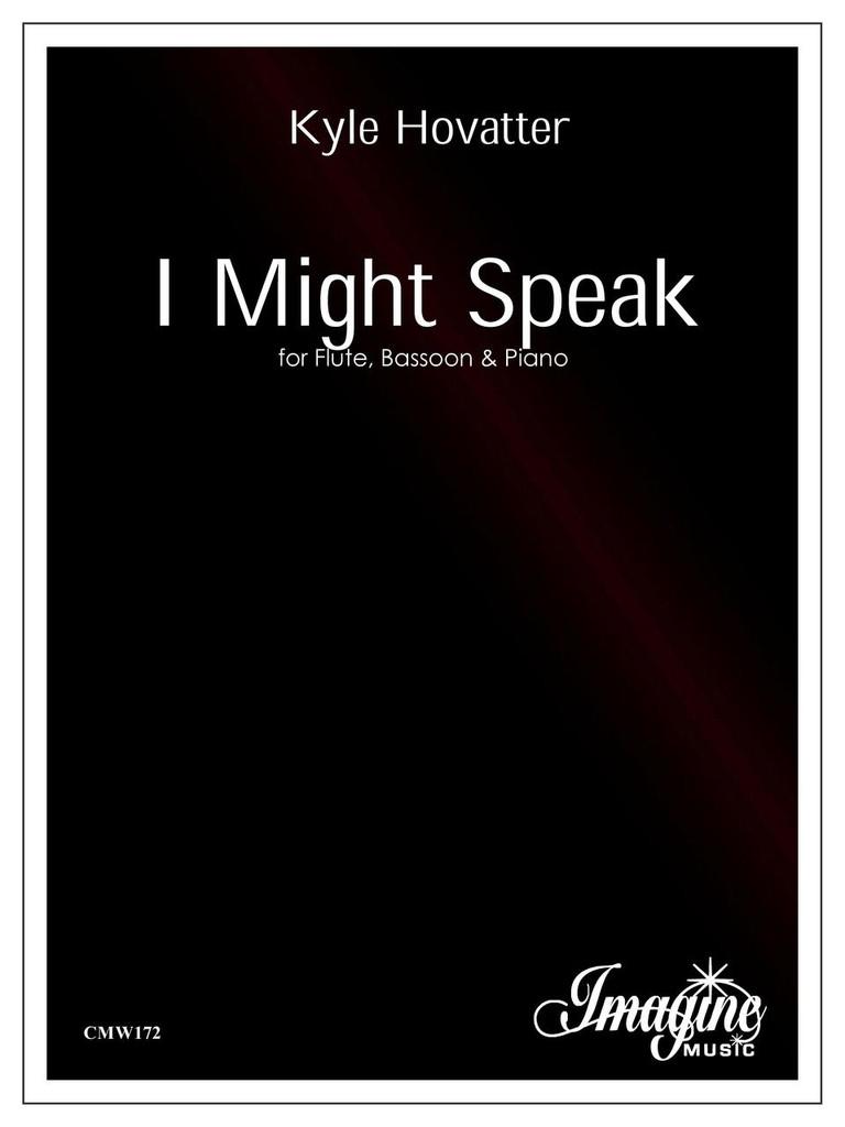 I Might Speak (download)