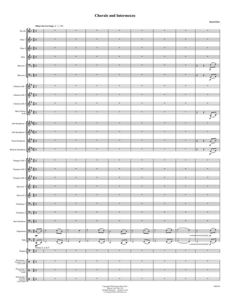 Chorale and Intermezzo (download)