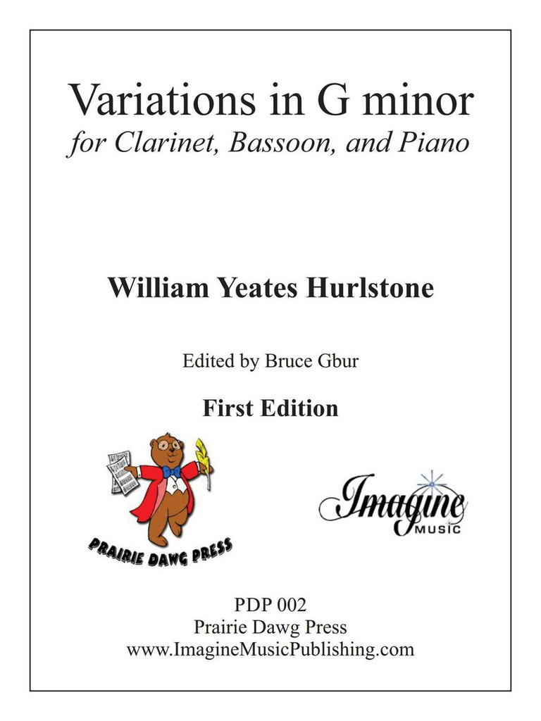Variations in G minor (download)