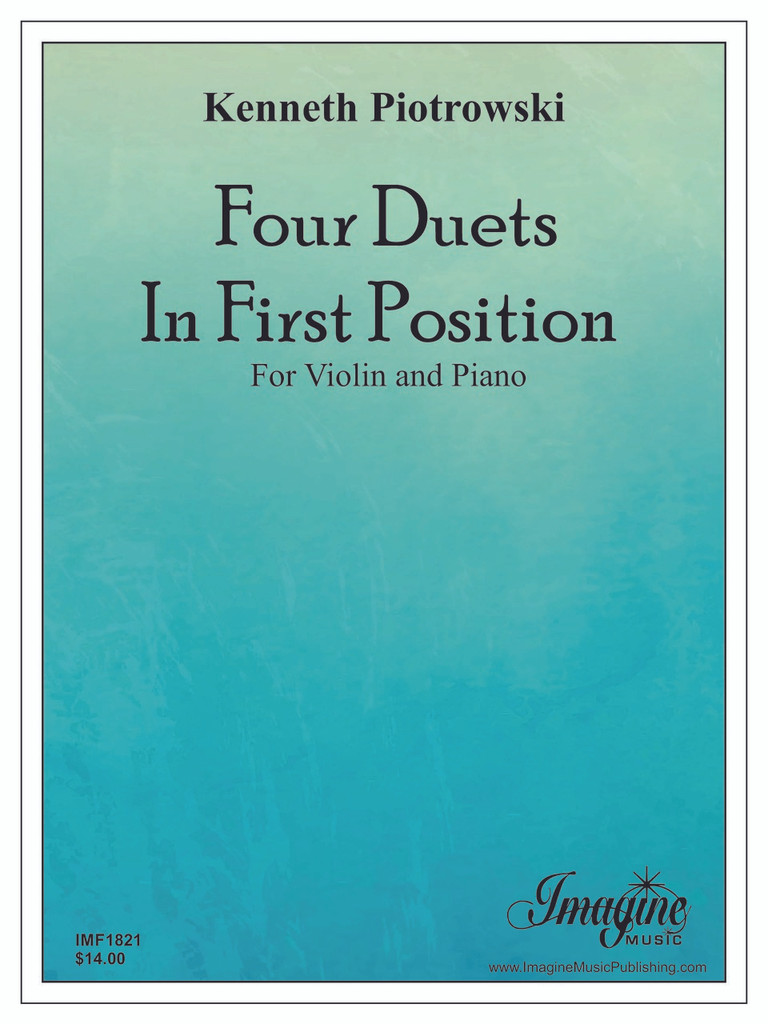 Four Duets in First Position for Violin & Piano (download)