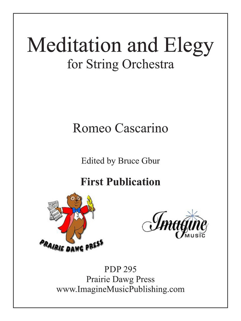Meditation and Elegy (download)