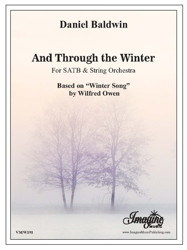 And Through the Winter (download)