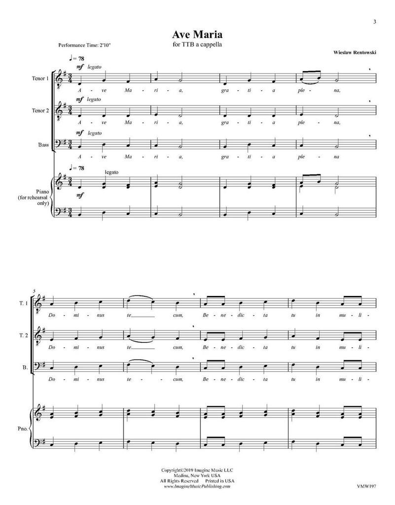 Ave Maria (TTB)(download)