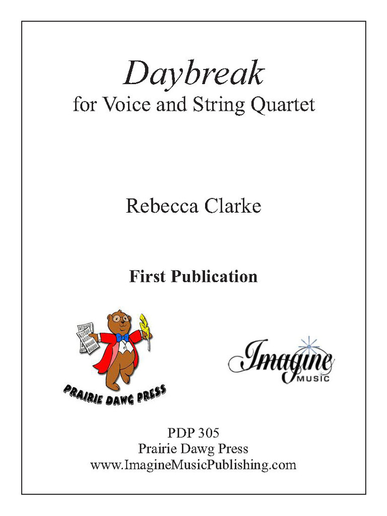 Daybreak (Voice & String Quartet)