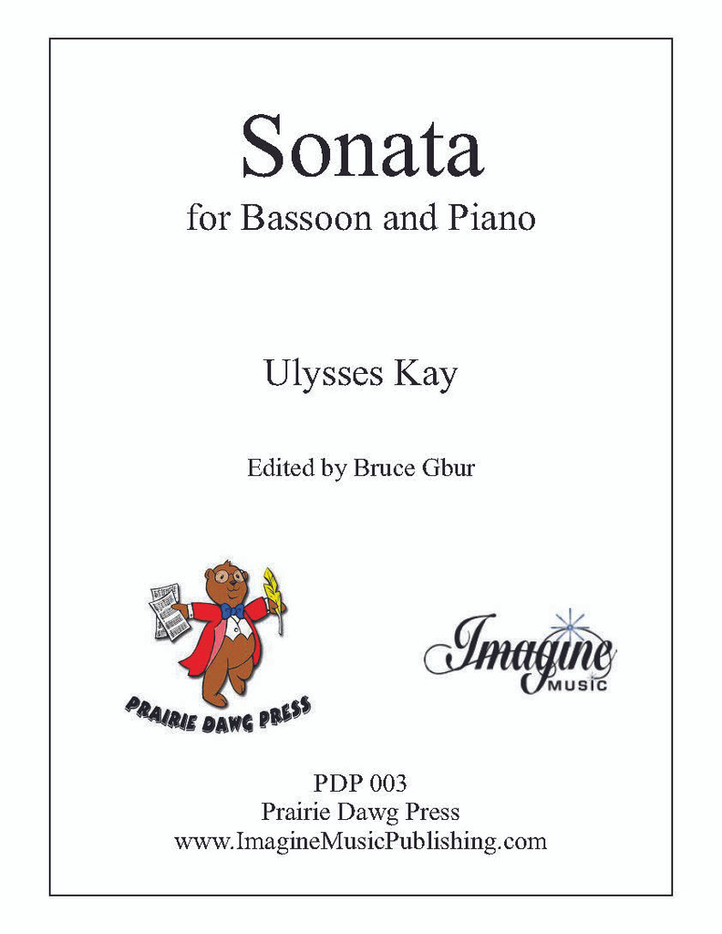 Sonata for Bassoon and Piano (PDP003)(download)
