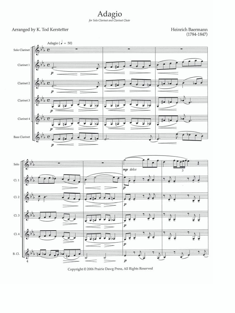 Adagio for Clarinet
