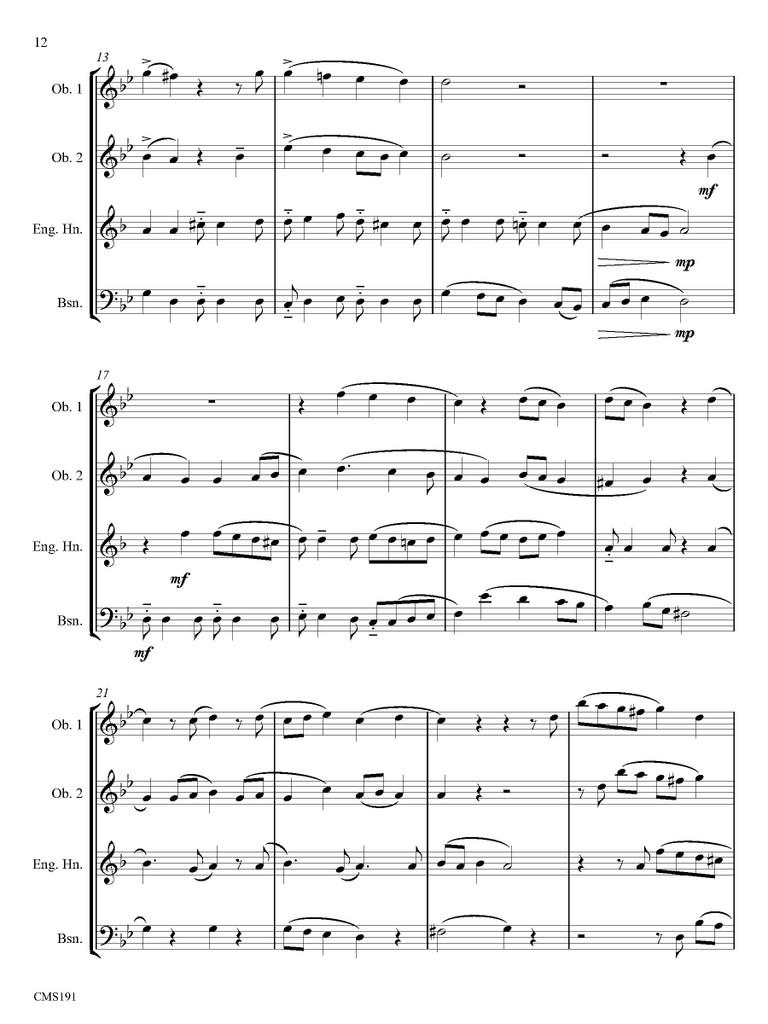 Quartet in G (download)