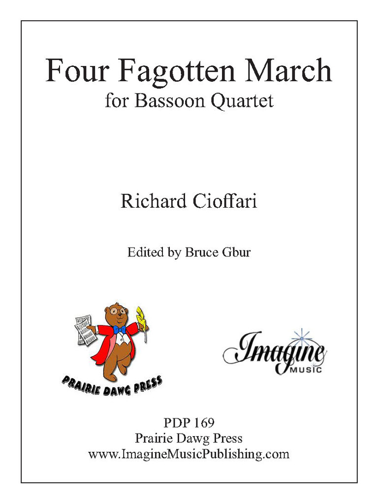 Four Fagotten March (download)