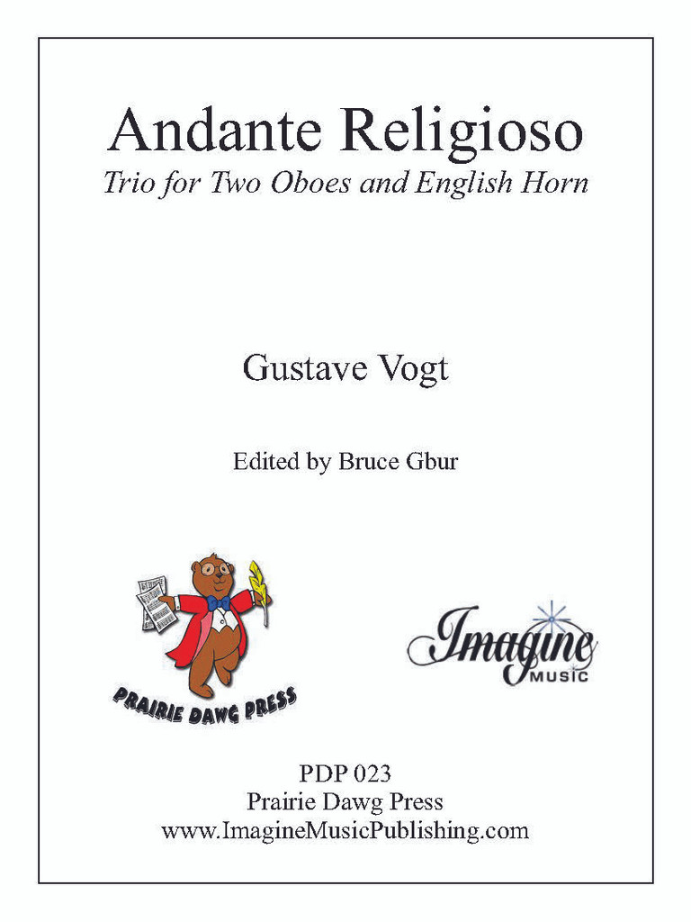 Andante Religioso (Two Oboes & English Horn)