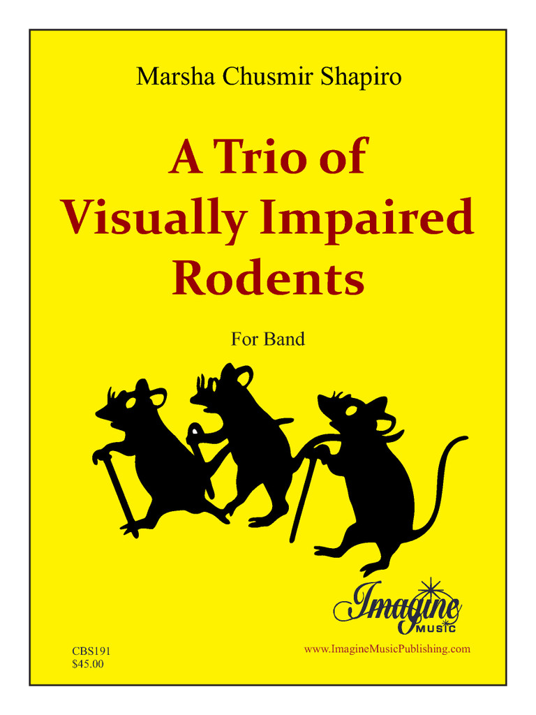 A Trio of Visually Impaired Rodents (Band)(download)