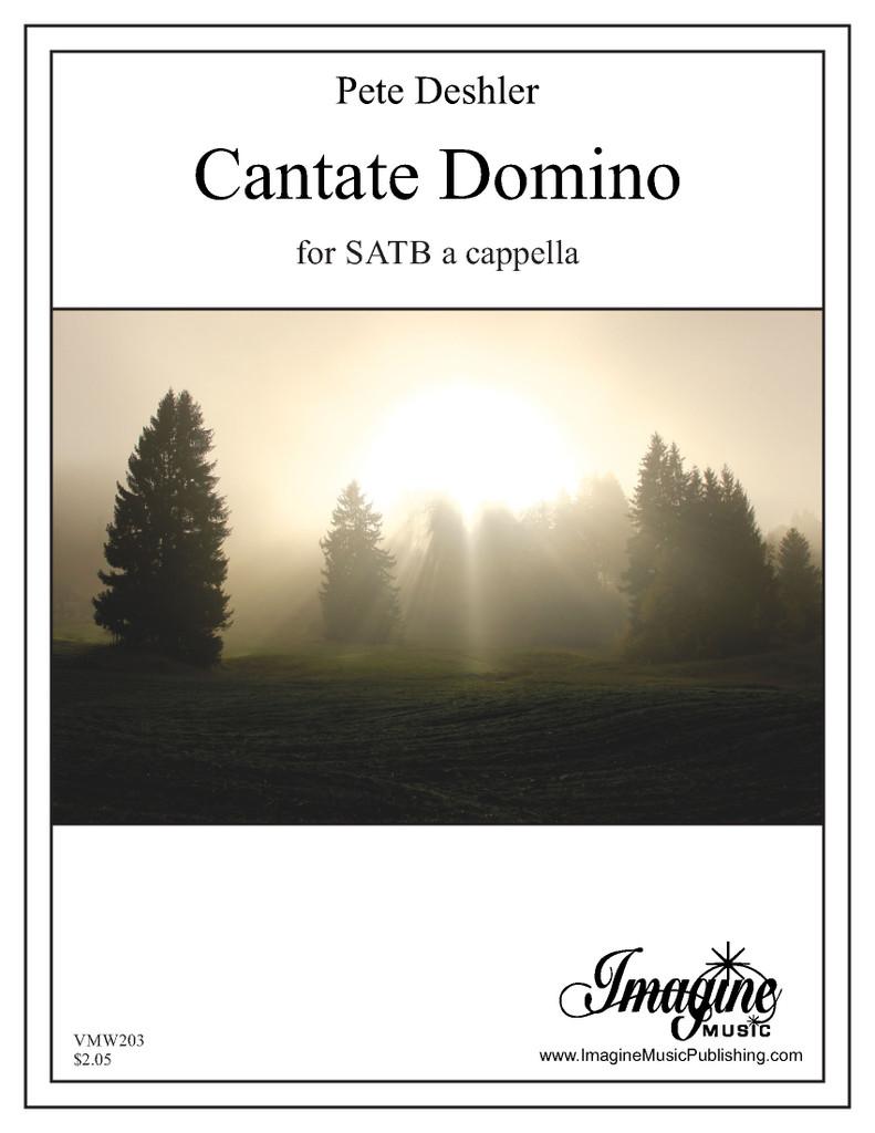 Cantate Domino (SATB)(download)
