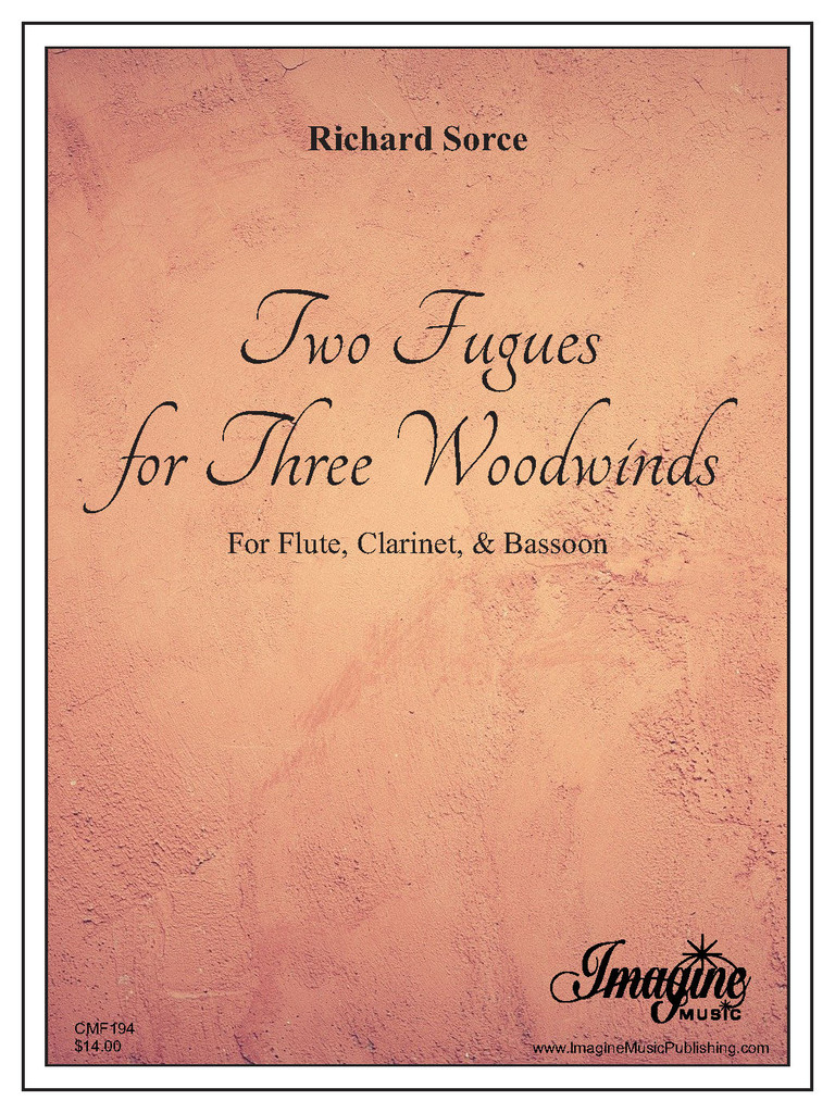 Two Fugues for Three Woodwinds