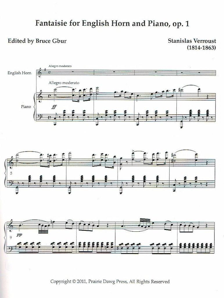 Fantaisie, Op. 1 (download)