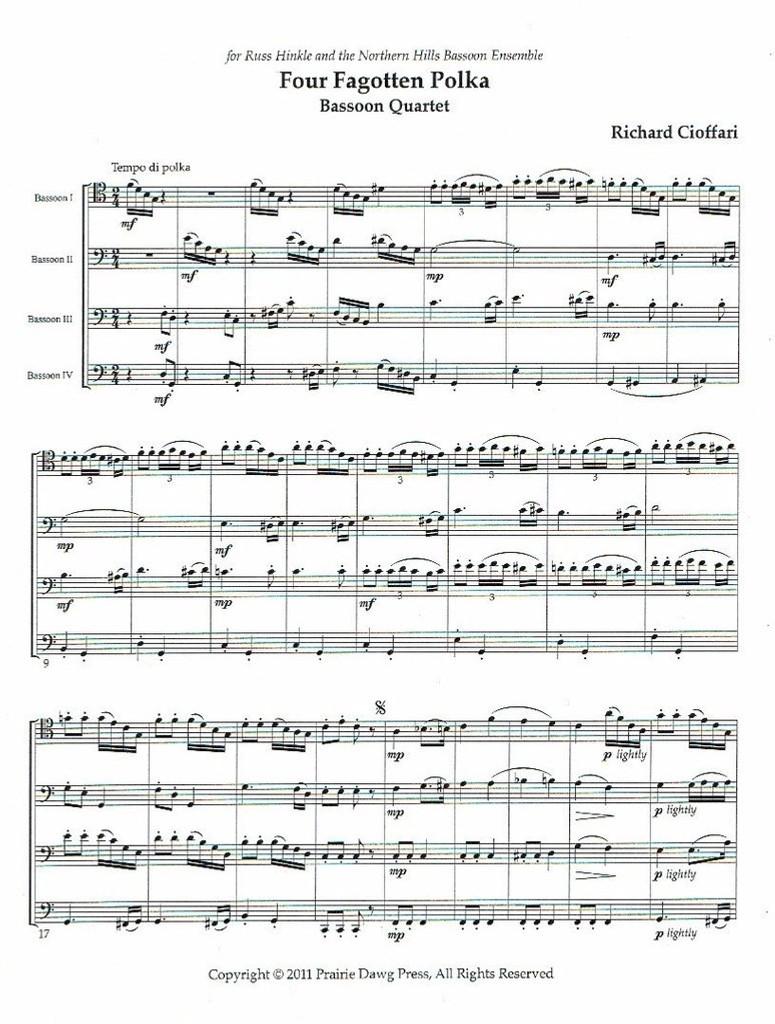 Four Fagotten Polka (download)