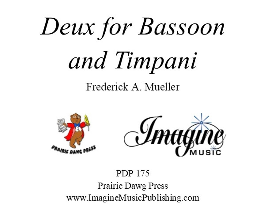 Deux for Bassoon and Timpani