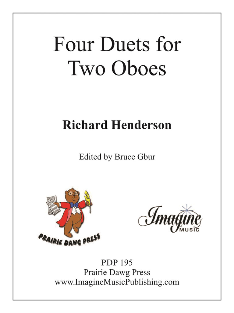 Four Duets (download)