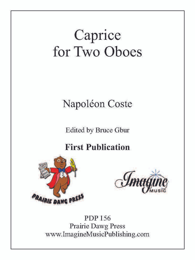 Caprice for Two Oboes