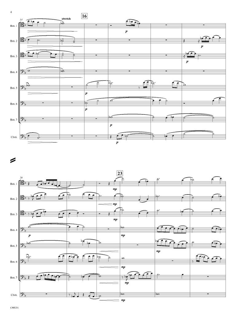 Big Sky Country (Bassoon Choir)
